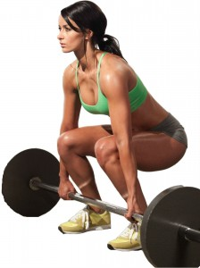 women with weights